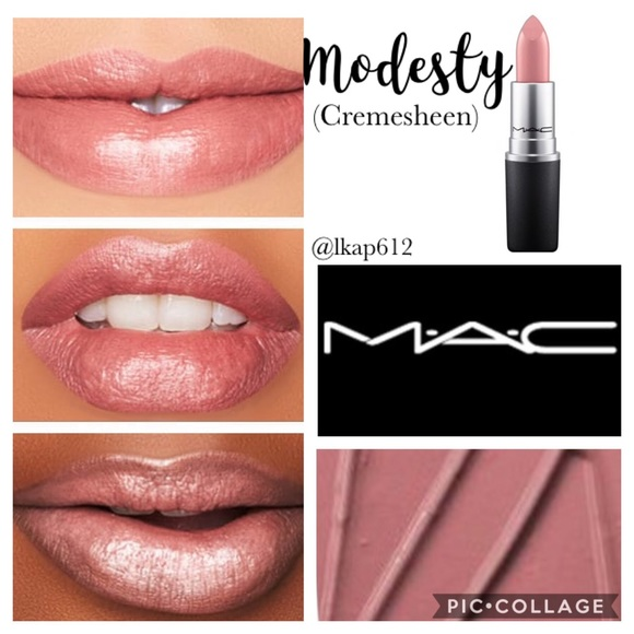 Betere MAC Cosmetics Makeup | Mac Cremesheen Lipstick Modesty | Poshmark OV-38